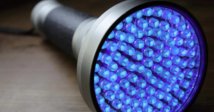 УФ-фонарик для тех, кому недостает витамина D медицина будущего