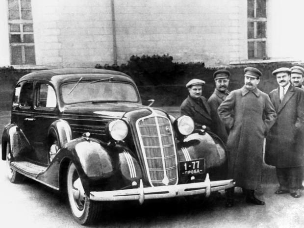 Первый лимузин Страны Советов, или С кого слизали ЗИС-101 (10 фото)