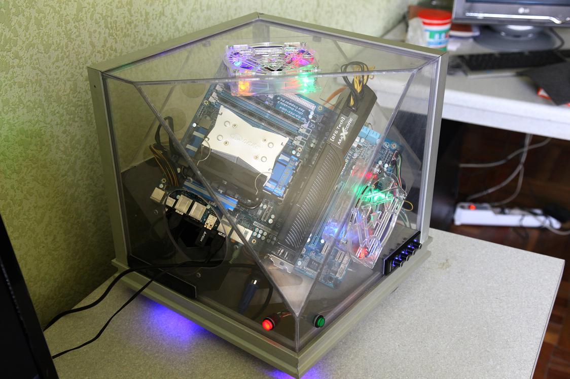Каркас для компьютера своими руками 62