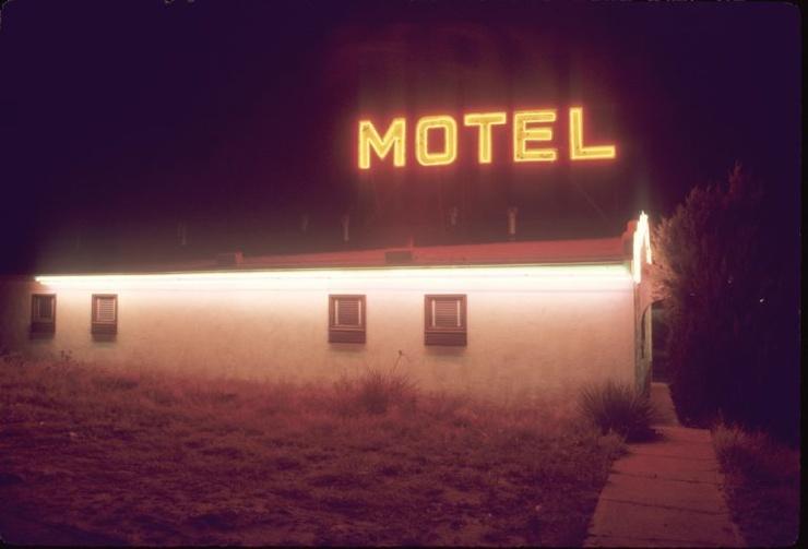 Как-будто сон после фильма Тарантино эстетика американских мотелей 70-х