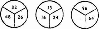 Три круга и закономерность