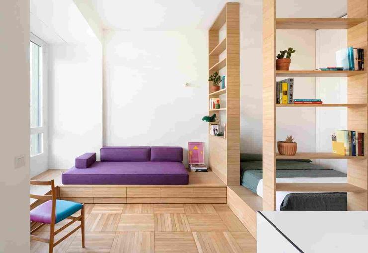 Маленькая однокомнатная квартира в центре Милана