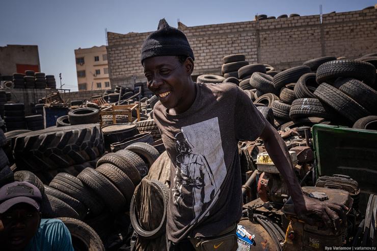 Дакар, Сенегал неправильный мусульманский город  фото