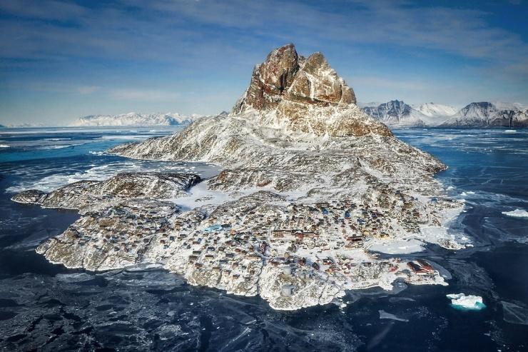 Летний курорт Гренландии  фото  видео