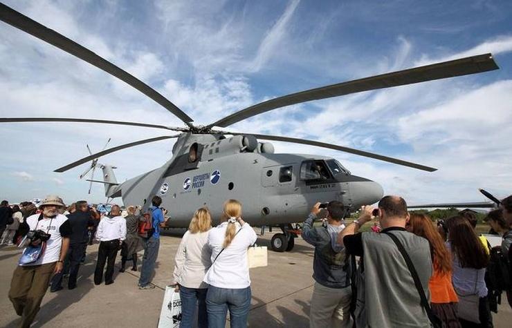 5 транспортных вертолетов, которые могут называть себя самыми большими