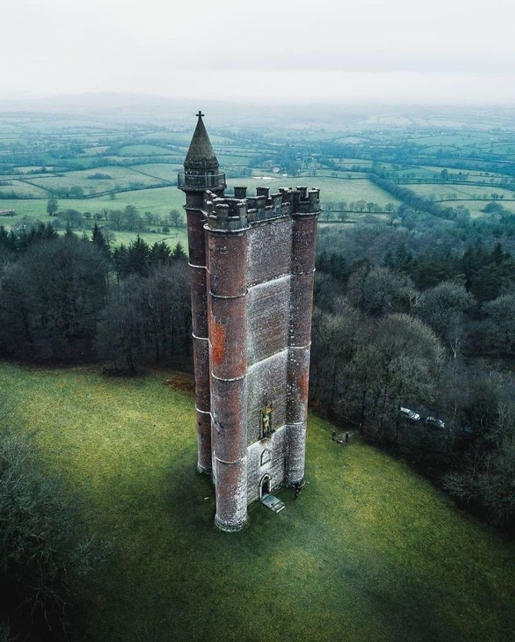 Башня короля Альфреда  фото  видео