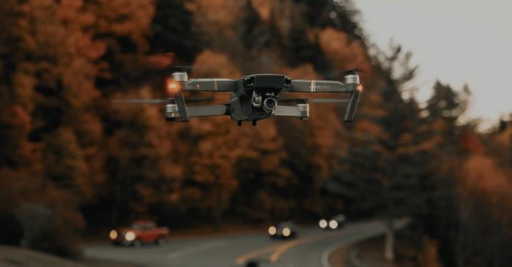 ГИБДД стала использовать дроны для выявления нарушений на дорогах