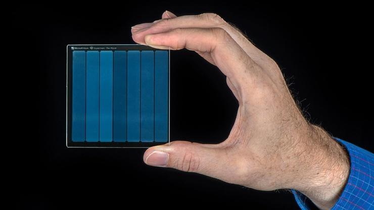 На небольшое стекло удалось записать 75,6 ТБ данных