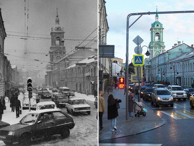 До и после как изменилась Москва за последние 150 лет