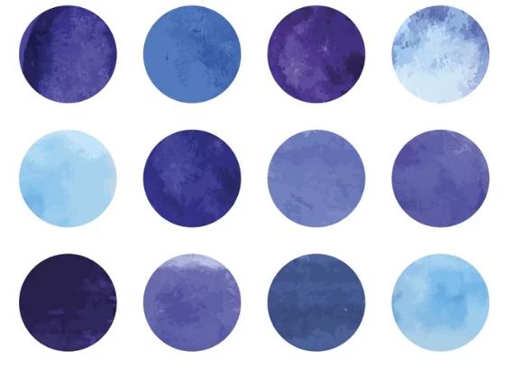 Фиолетовый или синий? (видео)