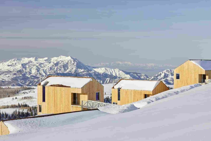 Квартал на высоте 2800 метров над уровнем моря