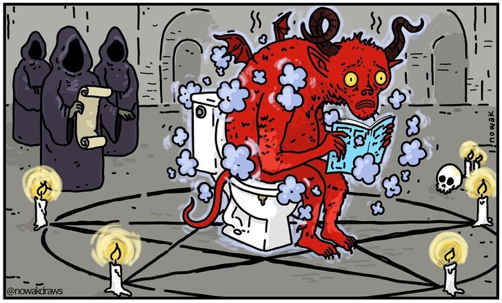 Задушевные карикатуры со вкусом черного юмора от Джозефа Новака (17 фото)