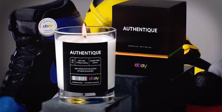 EBay выпустили свечи с запахом новых кроссовок (и их тут же раскупили!)