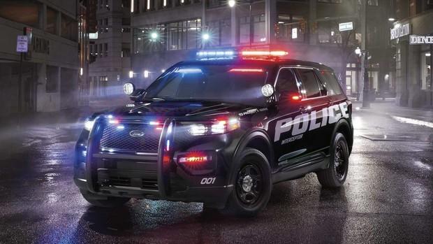Ford придумал, как дезинфицировать полицейские автомобили