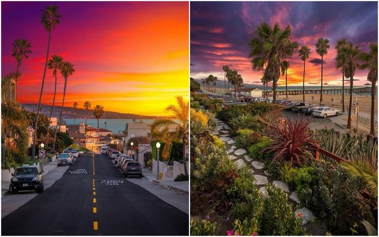 Захватывающие пейзажи Калифорнии на снимках Нейта Кэрролла