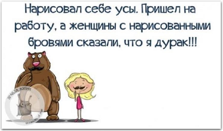 Усы Анекдоты