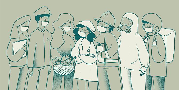 Эксперты советуют носить 2 маски для защиты от ковида  так эффективнее