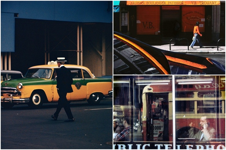 Магия обыденности на снимках пионера цветной уличной фотографии Сола Лейтера