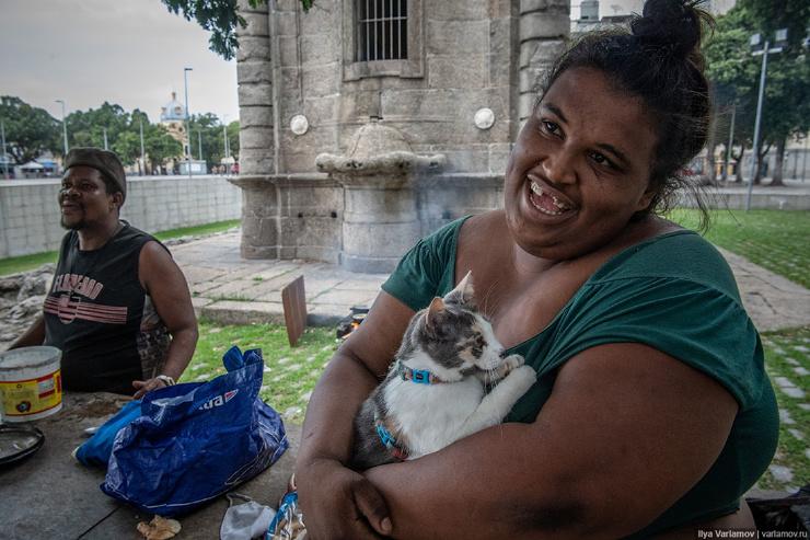 Рио-де-Жанейро бездомные, бразильский модернизм и нескоростной трамвайamov.ru4045631.html (69 фото)