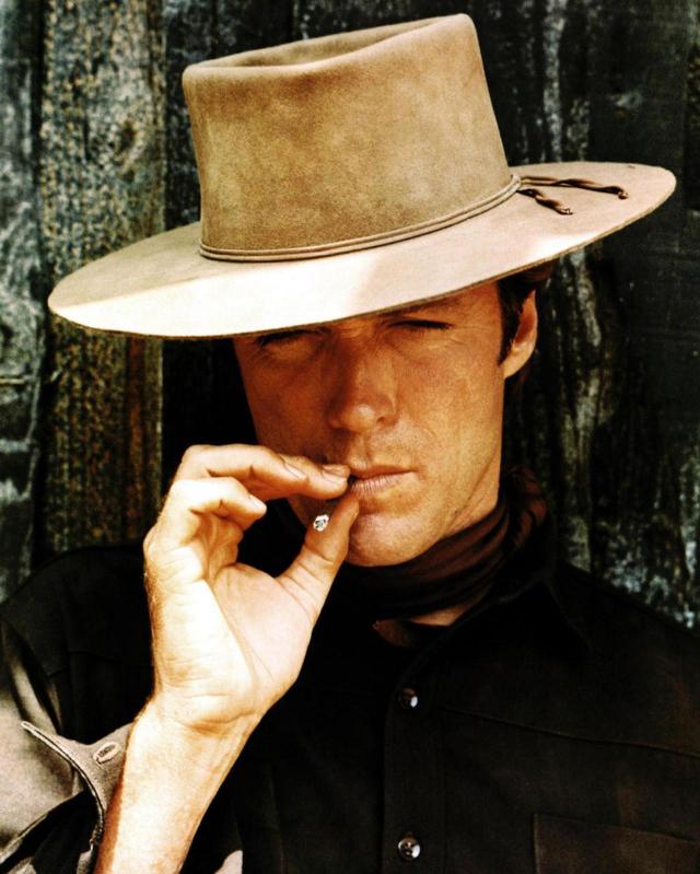 Уже ковбой, но еще не режиссер молодой Клинт Иствуд на фото 1960-х