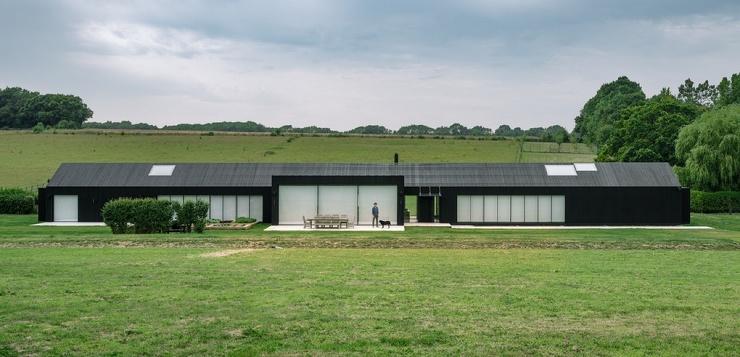 Длинный сельский коттедж для большой семьи и друзей в Англии