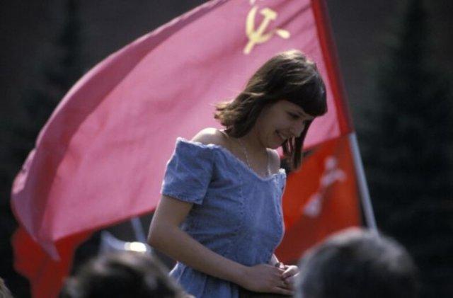 Атмосферные фотографии из СССР (15 фото)