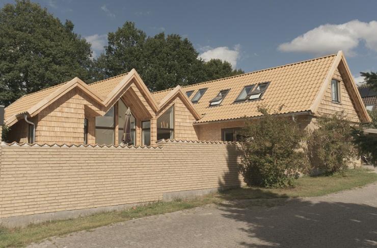 Семейный дом Скворечники в Дании