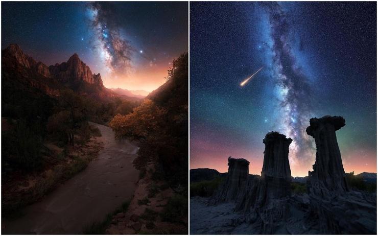 Ночное небо на снимках Дерека Стермена
