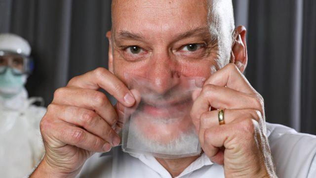 В Швейцарии разработали прозрачные медицинские маски