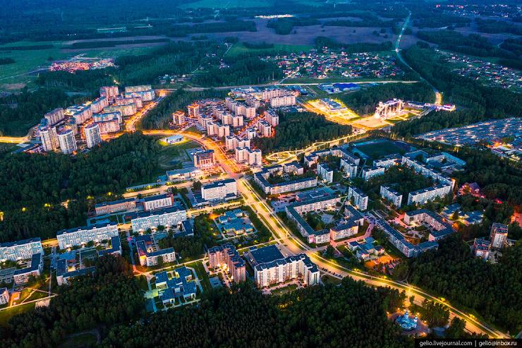 Наукоград Кольцово  современный посёлок для учёных (28 фото)