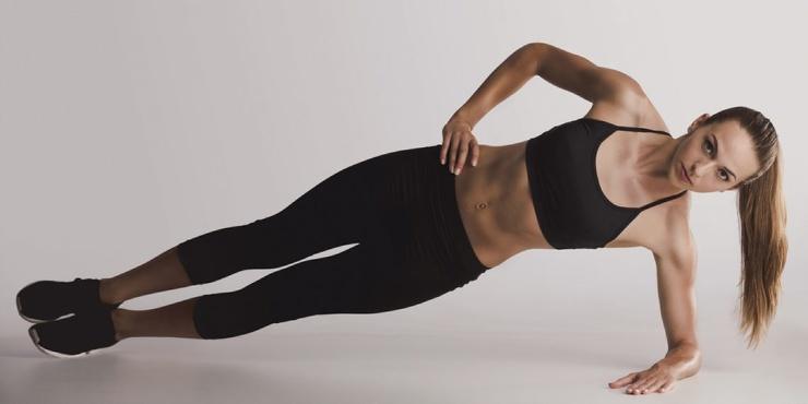 Тренировка дня 8 упражнений для подтянутого живота