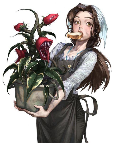 Жуткие гиганты и хрупкие красотки иллюстрации Сон Му Хо