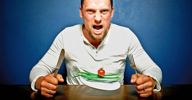Как справиться с чувством голода на диете четыре способа