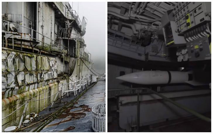 Как выглядит кладбище французских военных кораблей внутри и снаружи  фото  видео