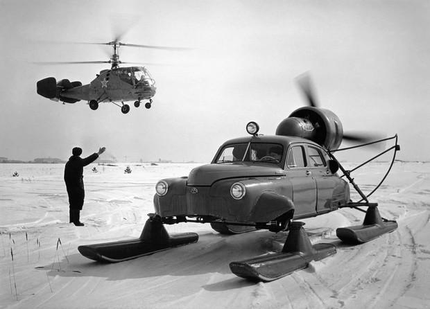 То ли лыжи не едут Как провалились советские аэросани Север-2