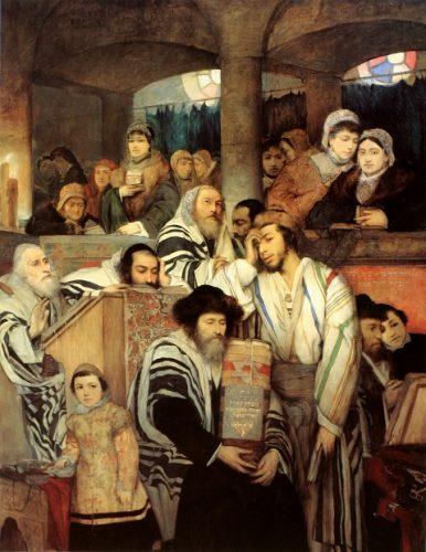 Особое положение евреев в России в 1770-80 гг.