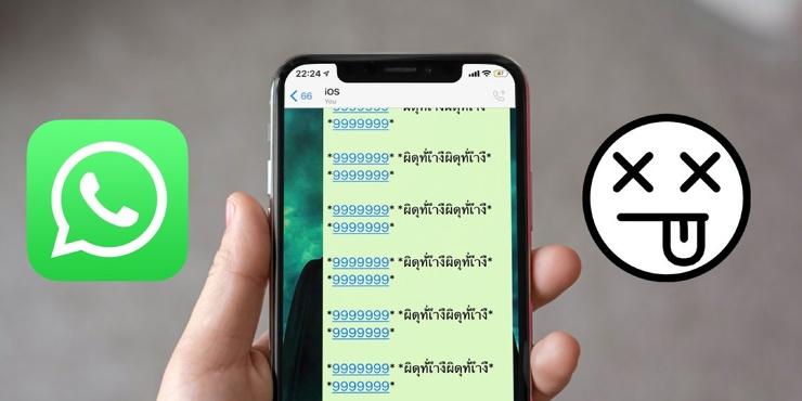 Пугающие сообщения ломают WhatsApp. Будьте бдительны