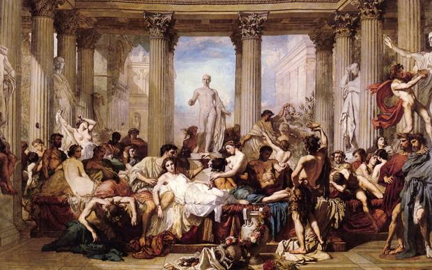 7 самых диких сексуальных обычаев Древнего Рима (6 фото)