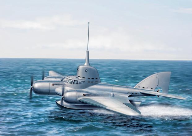 20 000 лье над водой история летающей подводной лодки