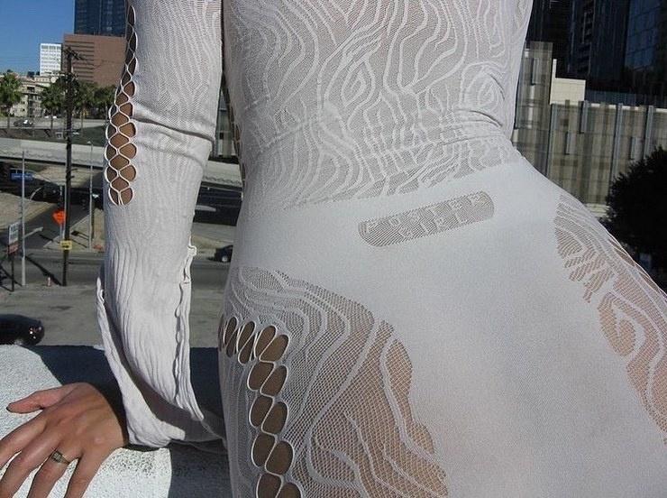 Новый модный тренд дырявые платья