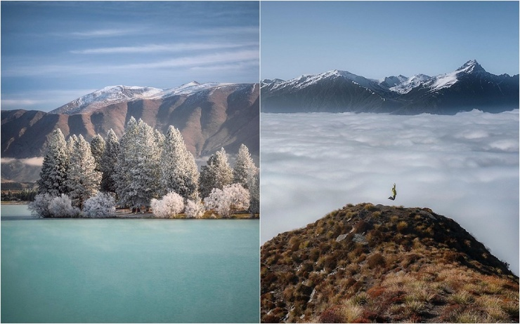 Красивые фото из путешествий Джеймса Блейкени