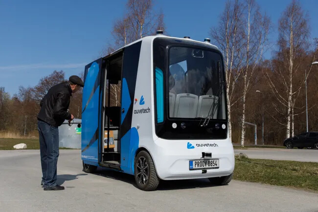 В эстонском городе Тарту запустят беспилотный шаттл на водородном топливе  впервые в мире (видео)