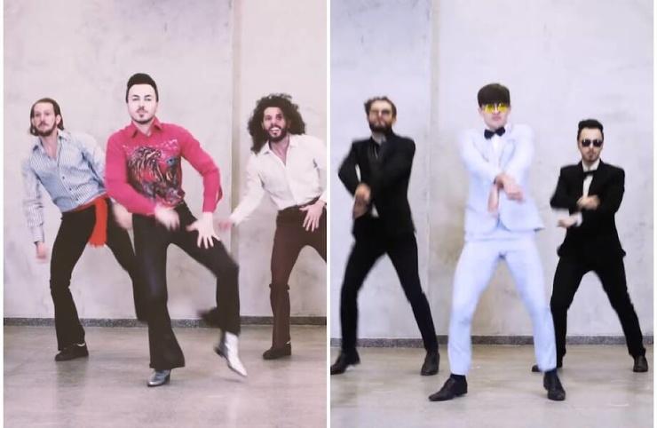 Видео 6 минут хватило танцорам, чтобы показать 35 танцев 1950-2019 годов