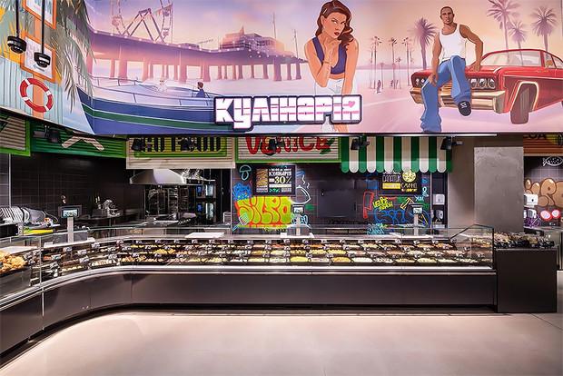 На Украине открылся супермаркет в стиле игры GTA (15 фото)