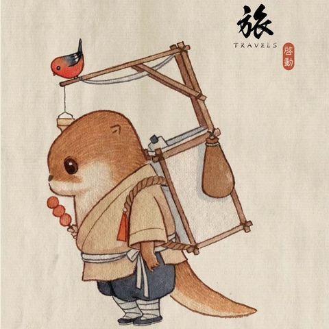 Озорные выдры художника Ли Синмина (35 фото)