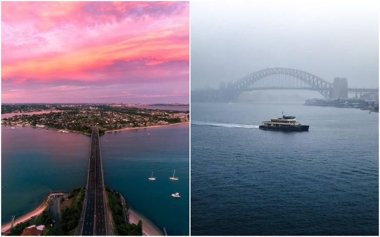 Австралия на аэрофотоснимках Дэнни Стоуна