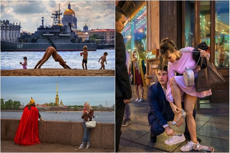 Увлекательные уличные снимки Александра Петросяна