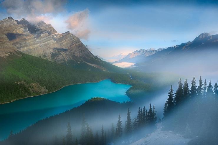 Замечательные пейзажные снимки Перри Шелат