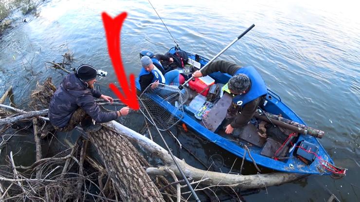 Подсак. Коряги раздают. Рыбное эльдорадо  видео