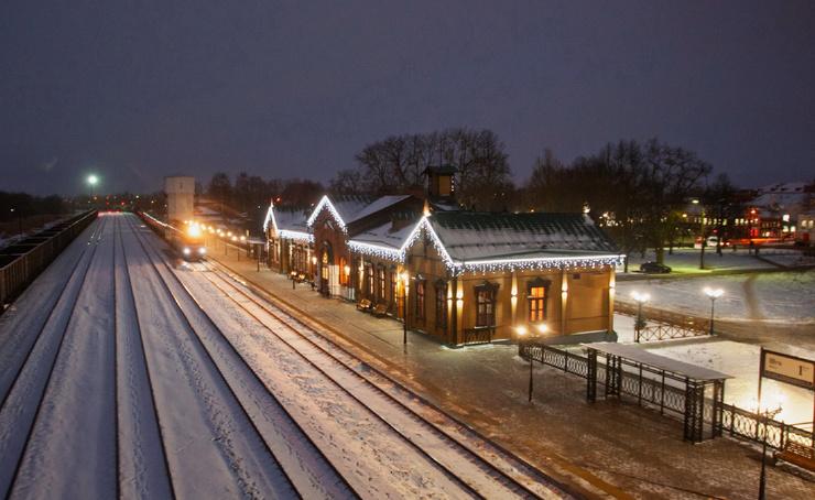 Ошуительный вокзал! (30 фото)
